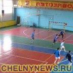 """Тренировка футбольного клуба """"КАМАЗ"""""""