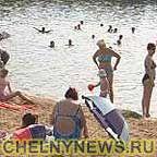 Городской пляж Набережные Челны