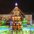 Новогодняя елка Нижнекамск
