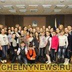 Юные спортсмены  отделения фигурного катания ДЮСШ «Челны»