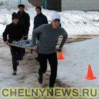 школьники приняли участие в военной эстафете