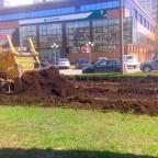 Строительство новой трамвайной ветки