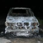 Сгорел BWM X5